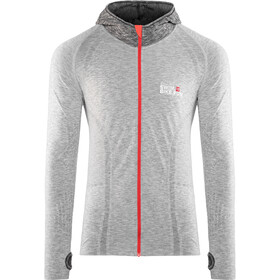 Compressport 3D Thermo Seamless Veste à capuche, grey
